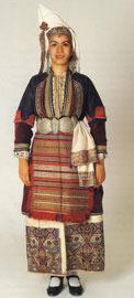 Νυφική φορεσιά Επισκοπής